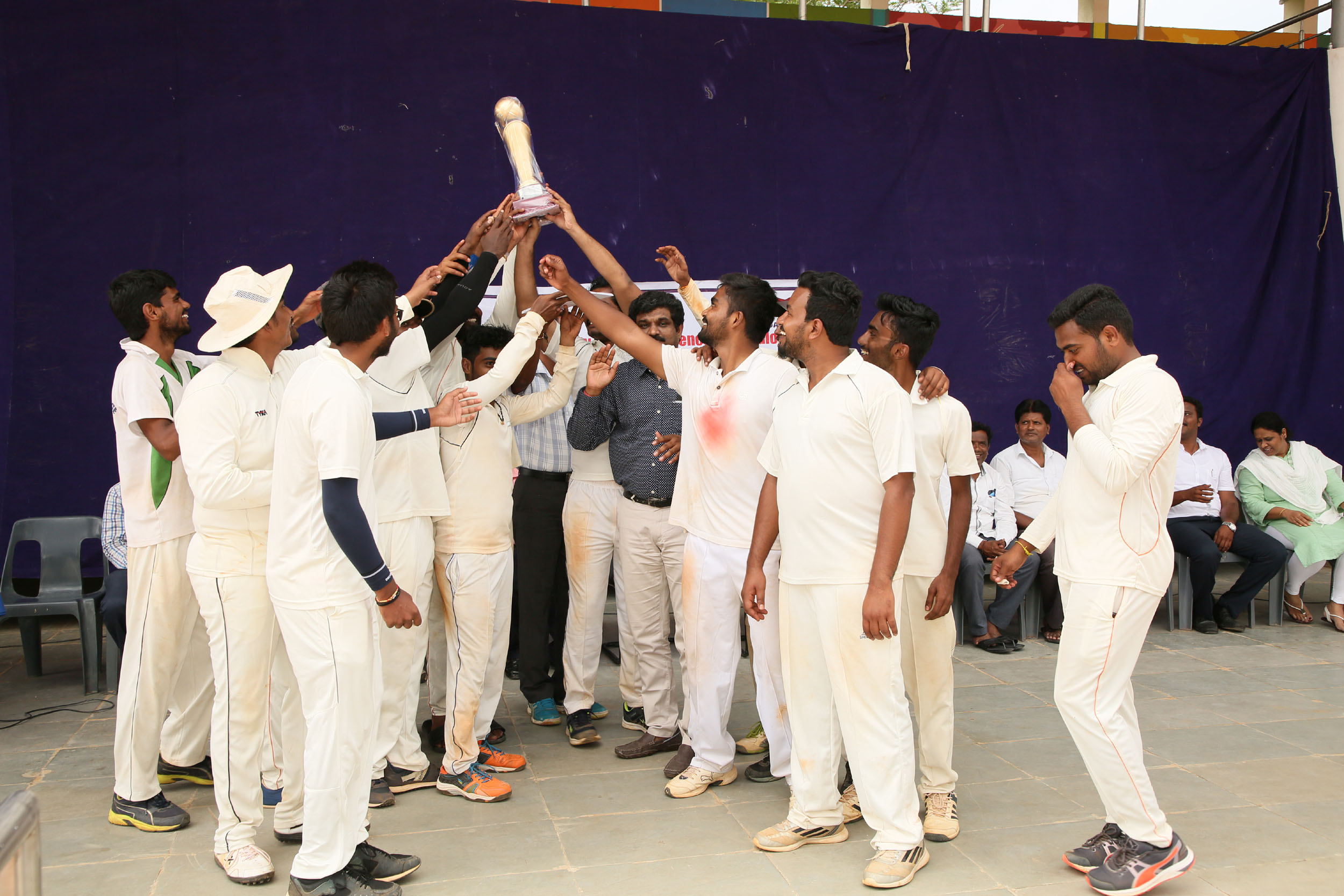 RGUHS Cricket Tournament(Navodaya Medical College Runner-up)