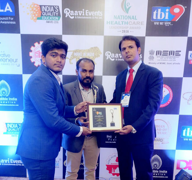 India's Quality Education Award 2018