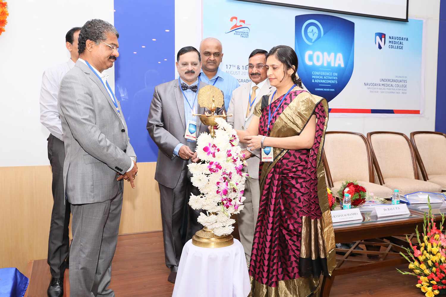 Conference on Medical Activities and Advancements (COMA 2K18)