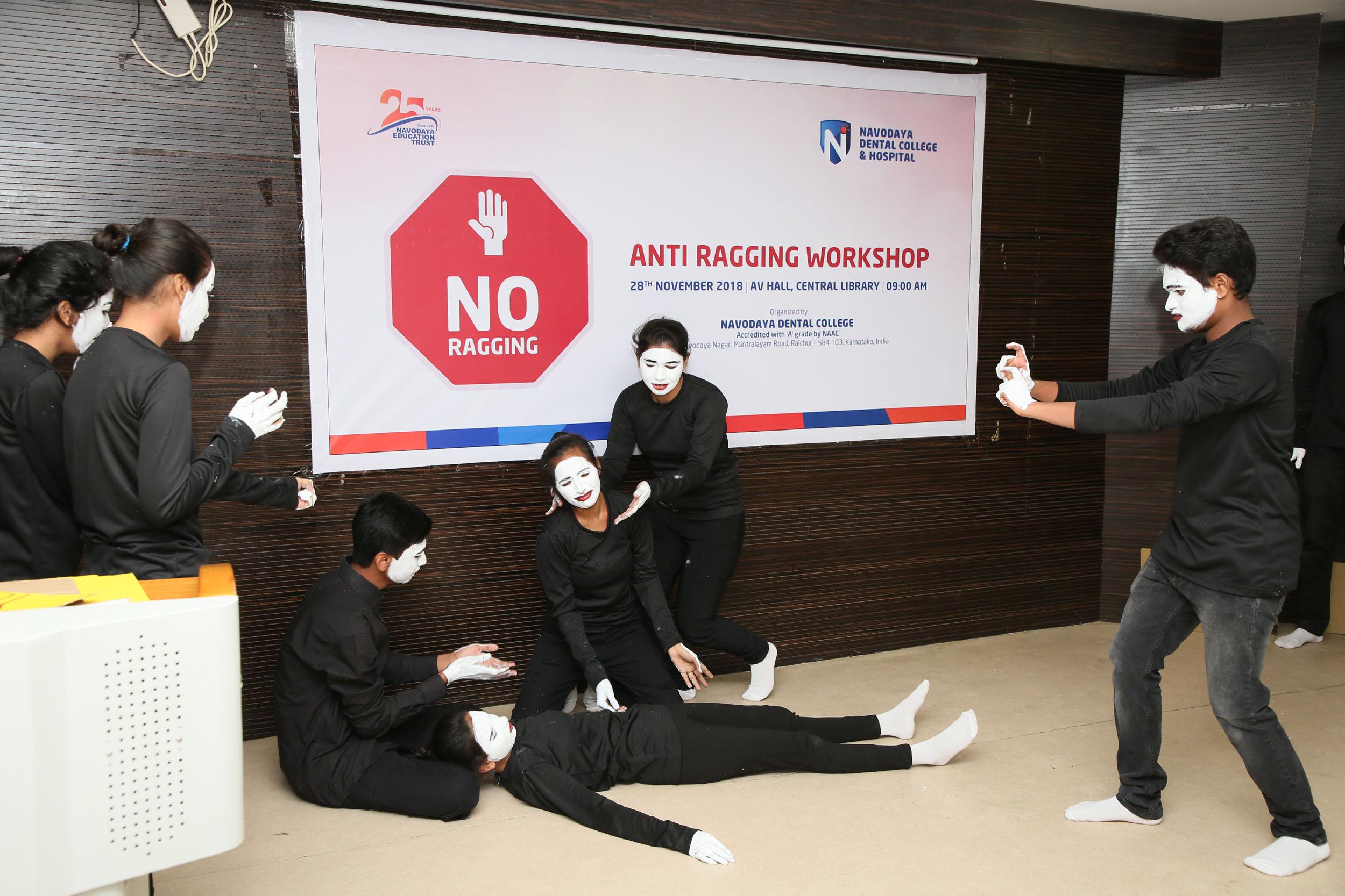 Anti-Ragging Workshop(Navodaya Dental College)