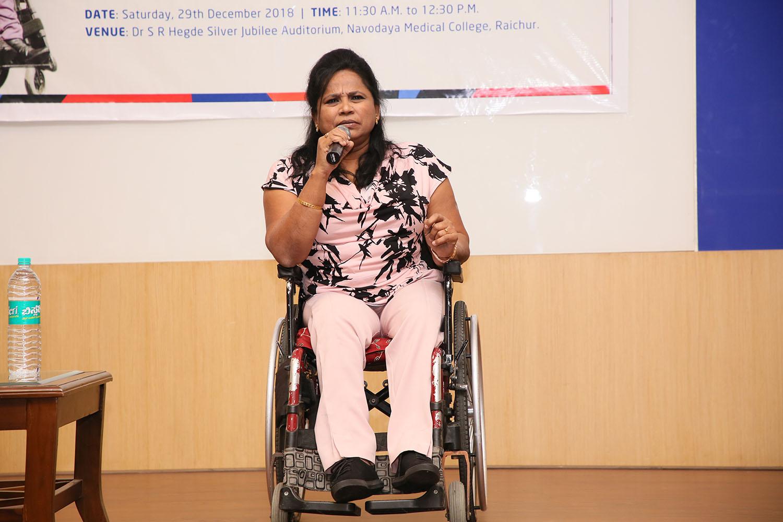 "Silver Jubilee Special Lecturer by ""Padma shri Dr Malathi Krishnamurthy Holla"""
